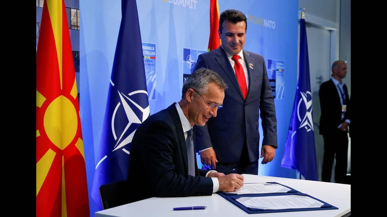 Πρόσκληση ΝΑΤΟ σε Π.Γ.Δ.Μ. για ένταξη στη Συμμαχία