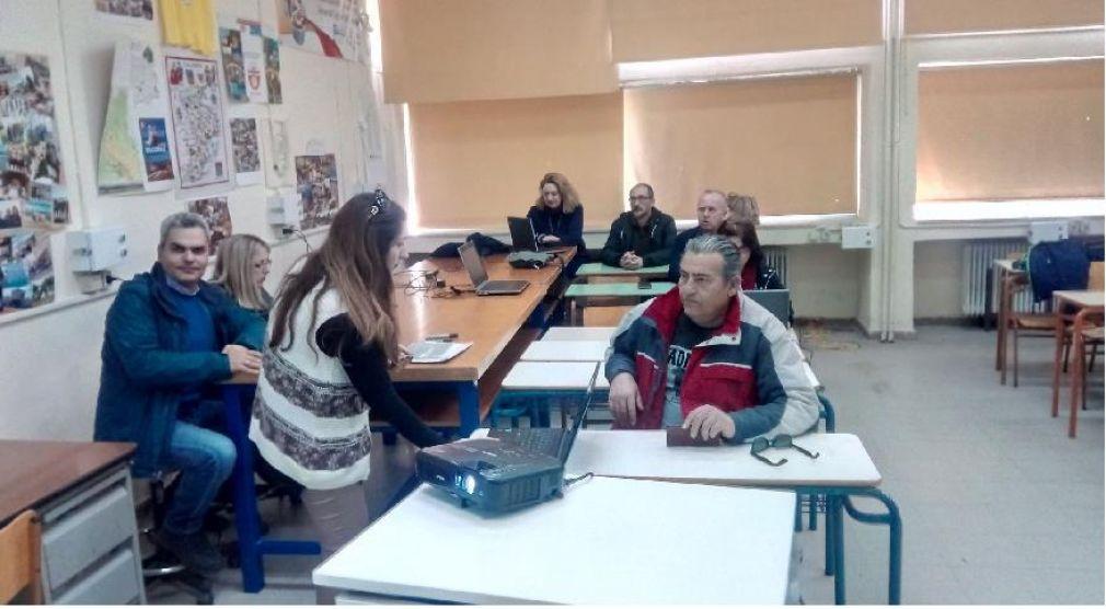 Διάχυση αποτελεσμάτων επιμόρφωσης στο πλαίσιο του Erasmus στο ΓΕΛ Προαστίου