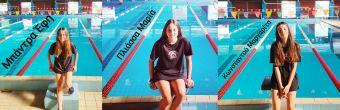 Τρεις αθλήτριες του Νηρέα Καρδίτσας επίλεκτες της Κ.Ο.Ε. στην τεχνική κολύμβηση