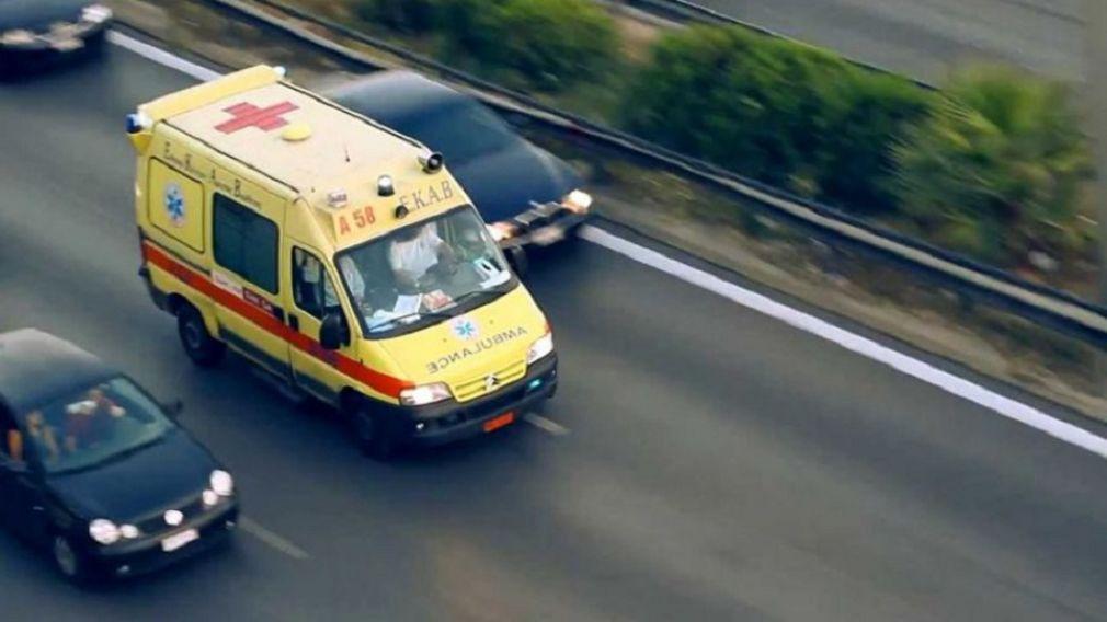 Σοβαρός τραυματισμός 20χρονου σε τροχαίο στην Ελασσόνα