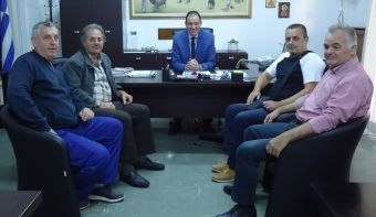 Συνάντηση του Αντιπεριφερειάρχη Καρδίτσας με τη Διοίκηση της Αναγέννησης