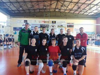 Σχολικό πρωτάθλημα βόλεϊ: Εύκολη πρόκριση στα ημιτελικά για τα κορίτσια του 5ου ΓΕΛ Καρδίτσας (+Φώτο +Βίντεο)