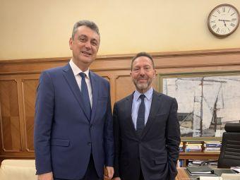 Συνάντηση του Βουλευτή Καρδίτσας Γ. Κωτσού με το Διοικητή της Τράπεζας της Ελλάδος