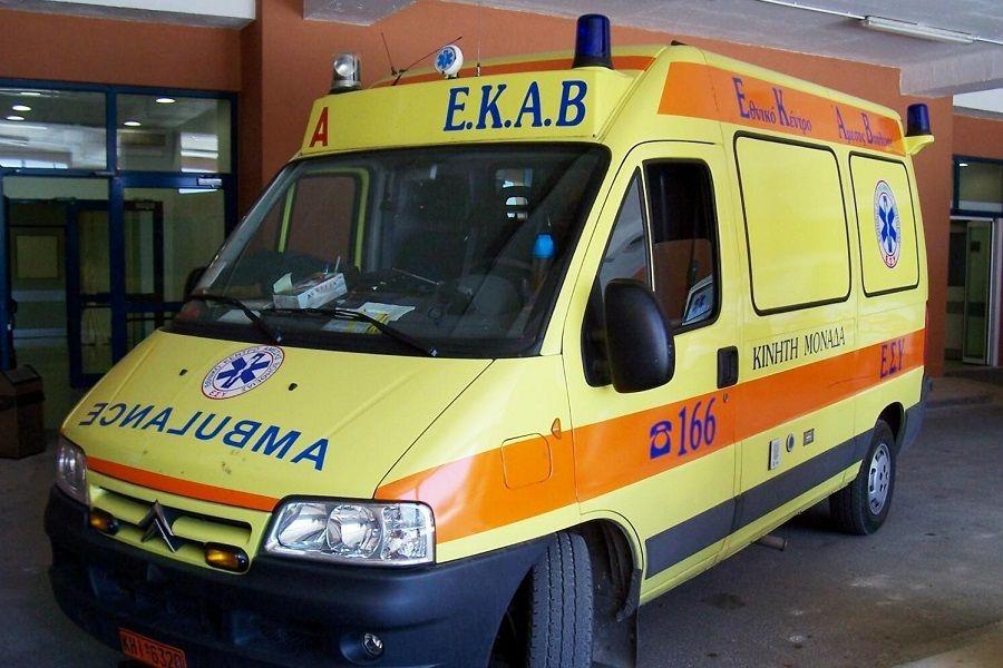 Τροχαίο με τρεις τραυματίες στο Καλλίθηρο Καρδίτσας