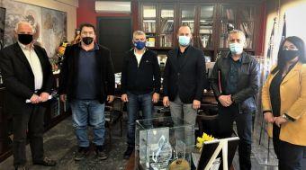 Συνάντηση Δημάρχου Μουζακίου με τον Περιφερειάρχη Θεσσαλίας για τον αναδασμό στο Αγναντερό