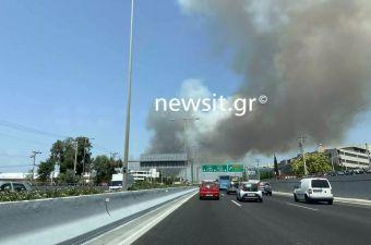 Μεγάλη πυρκαγιά στη Βαρυμπόμπη (+Βίντεο)