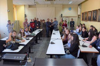Μαθητές Λυκείων στο Δημαρχείο Καρδίτσας