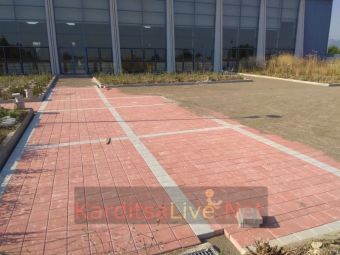 Παίρνει μορφή ο περιβάλλοντας χώρος του νέου κλειστού γυμναστηρίου της Καρδίτσας (+Φώτο +Βίντεο)