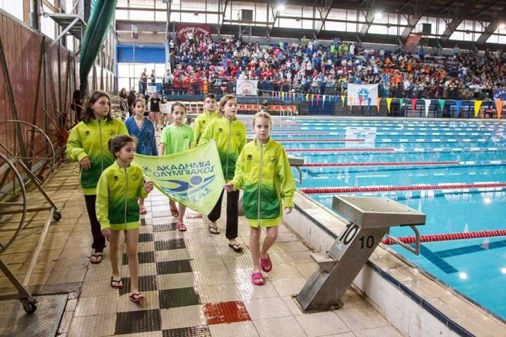 """37 αθλητές της ΑΚΑΚ και του ΑΣΚ Ολυμπιακού συμμετείχαν στους κολυμβητικούς αγώνες """"Αντώνης Δρόσος"""""""