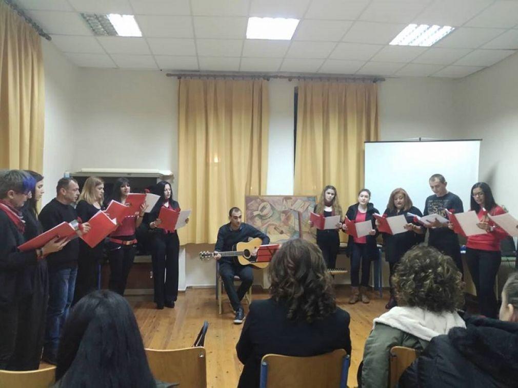 Εσπερινό Γυμνάσιο - Λ.Τ. Καρδίτσας: Εκδήλωση για την 45η επέτειο του Πολυτεχνείου