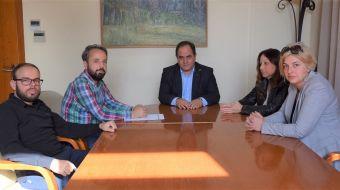 Συνάντηση του Δημάρχου Καρδίτσας με το Σύλλογο Πασχόντων Θαλασσαιμίας Καρδίτσας