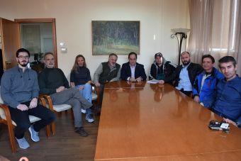 Διασυλλογικοί αγώνες θα πραγματοποιηθούν τον Μάιο στο Δ.Α.Κ. - Συντάντηση Τσιάκου με τον πρόεδρο της ΕΑΣ ΣΕΓΑΣ Θεσσαλίας