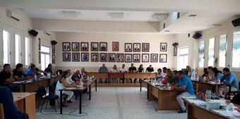Ενημέρωση και καταγραφή προβλημάτων στο Δ.Σ. Παλαμά παρουσία του υποδιοικητή του ΕΛΓΑ