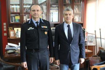 Συνάντηση του Περιφερειάρχη Θεσσαλίας με το νέο Περιφερειακό Διοικητή Πυροσβεστικών Υπηρεσιών Θεσσαλίας