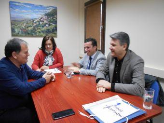 Επίσκεψη της διοίκησης της Συνεταιριστικής Τράπεζας Καρδίτσας στο Δήμο Λίμνης Πλαστήρα