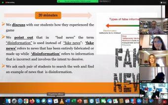 Το Γυμνάσιο – Λ.Τ Μαγούλας συμμετέχει σε ευρωπαϊκή διαδικτυακή συνάντηση που οργανώθηκε από σχολείο της Τουρκίας