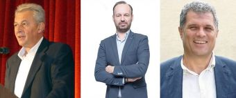 Στο Δ.Σ. της ΠΕΔ Θεσσαλίας εκλέχθηκαν οι Δήμαρχοι Θ. Σκάρλος, Φ. Στάθης και Γ. Σακελλαρίου