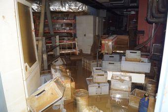 Ζημιές υπέστη και το Αρχαιολογικό Μουσείο Καρδίτσας από την πλημμύρα