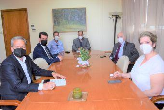 Συνάντηση του Δημάρχου Καρδίτσας Β. Τσιάκου με τον Γ.Γ. Επαγγελματικής Εκπαίδευσης, Κατάρτισης και Διά Βίου Μάθησης Γ. Βουτσινό