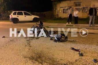 Θανατηφόρο τροχαίο με μοτοσικλέτα για 23χρονη στην Αμαλιάδα - Σοβαρά τραυματισμένος 30χρονος