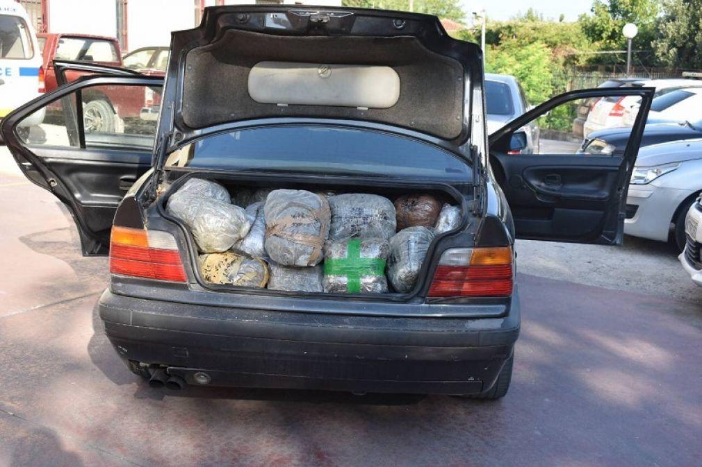 Πάνω από 102 κιλά ακατέργαστης κάνναβης εντοπίστηκαν και κατασχέθηκαν στην περιοχή του Κομποτίου Άρτας
