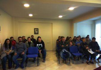Πρώτη συνάντηση των Μελλονύμφων στο Πνευματικό Κέντρο της Ιεράς Μητρόπολης