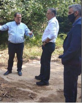 Επίσκεψη υπουργού εσωτερικών στο δήμο Λίμνης Πλαστήρα