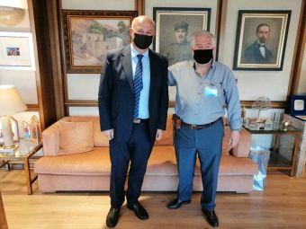 """""""Συνάντηση Δημήτρη Παπακώστα με Υπουργό Δικαιοσύνης Κώστα Τσιάρα"""""""
