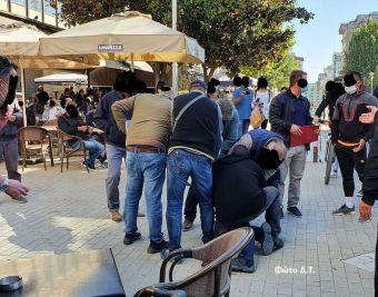 Με μάσκα πλειοψηφία των Καρδιτσιωτών το Σάββατο (24/10) - Σύλληψη ατόμου για αντίσταση μετά από σύσταση (+Φώτο)