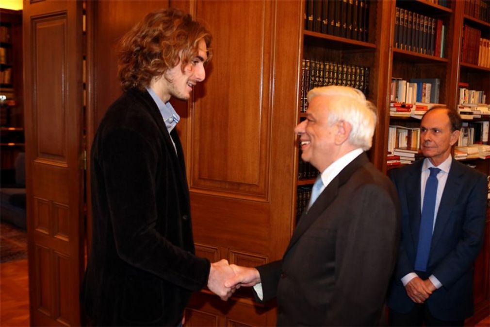 Στον Πρόεδρο της Δημοκρατίας ο Στέφανος Τσιτσιπάς