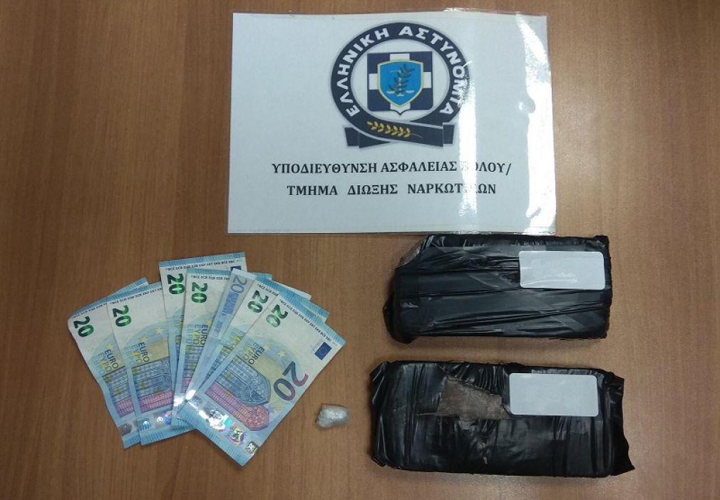 Συνελήφθη 37χρονος στο Βόλο που παραλάμβανε ηρωίνη από το ΚΤΕΛ