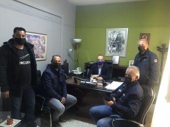 Συνάντηση του νέου Δ.Σ του ΤΟΕΒ Σελλάνων με τον θεματικό Αντιπεριφερειάρχη Νίκο Καραγιάννη
