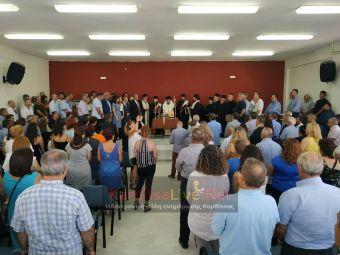 Ορκίστηκε η νέα Δημοτική Αρχή του Δήμου Παλαμά (+Φώτο +Βίντεο)