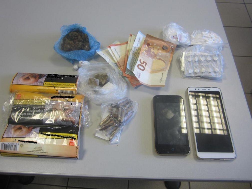 Δύο συλλήψεις στη Λάρισα για ναρκωτικές ουσίες