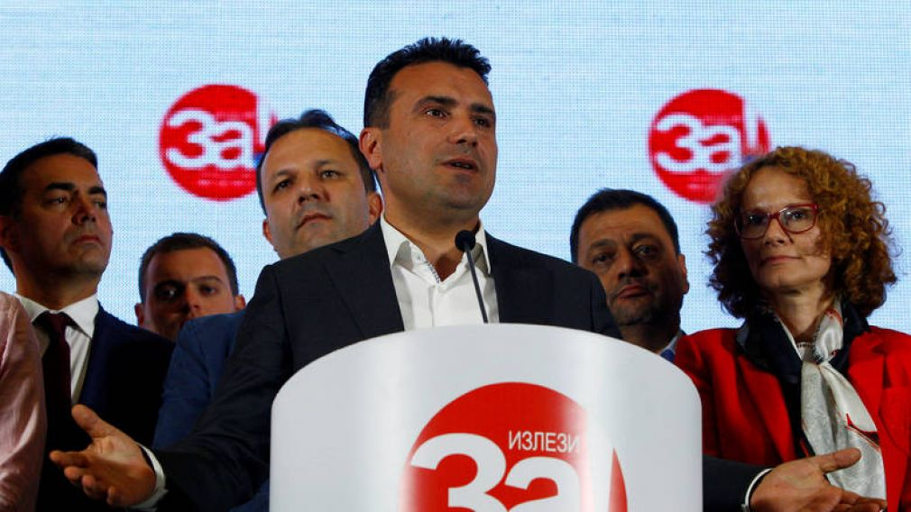 Πήρε πλειοψηφία 80 βουλευτών ο Ζόραν Ζάεφ για την τροποποίηση του Συντάγματος