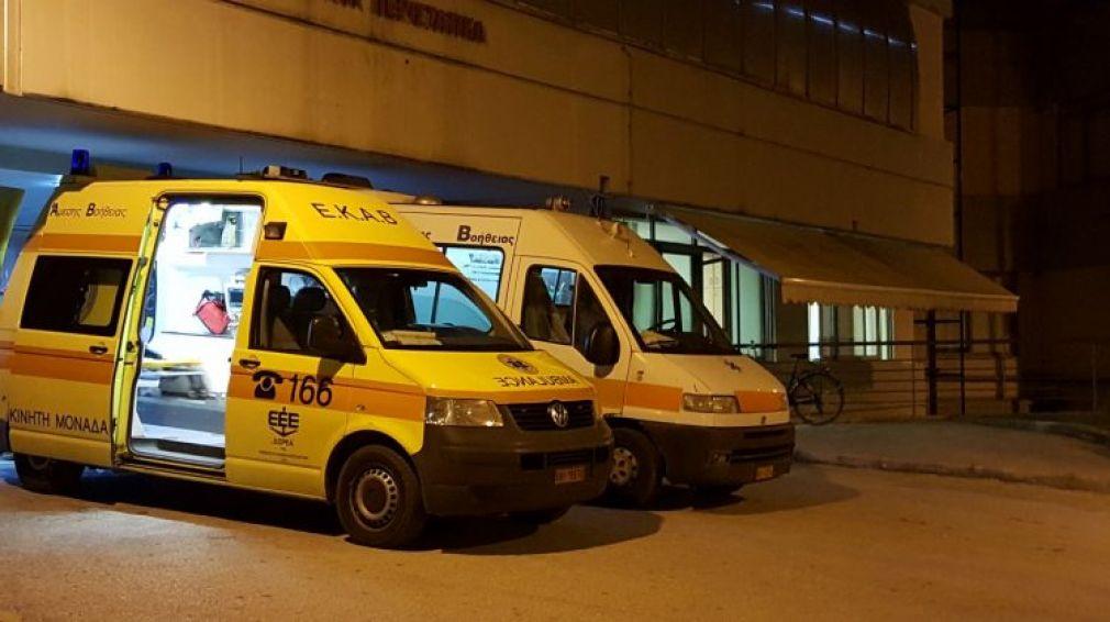«Φρούριο» το Νοσοκομείο Τρικάλων για τη μεταφορά επικίνδυνου βαρυποινίτη