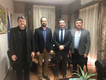 Συνάντηση με το Δήμαρχο Μουζακίου είχε ο πρόεδρος της Συνεταιριστικής Τράπεζας Καρδίτσας