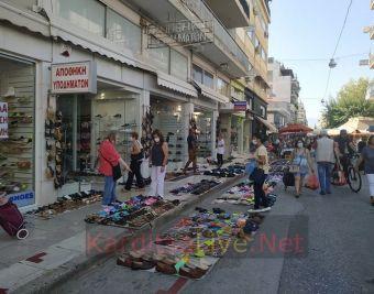 Καθολική η χρήση μάσκας από τους εκθέτες προϊόντων στη λαϊκή αγορά της Καρδίτσας! (+Φώτο)