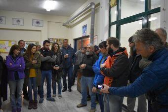 Η Ελληνική Ομάδα Διάσωσης Καρδίτσας έκοψε την Πρωτοχρονιάτικη πίτα