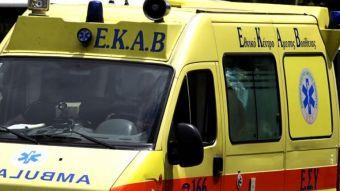 Οιχαλία: Ηλικιωμένος τυλίχθηκε στις φλόγες και έπεσε στο κενό