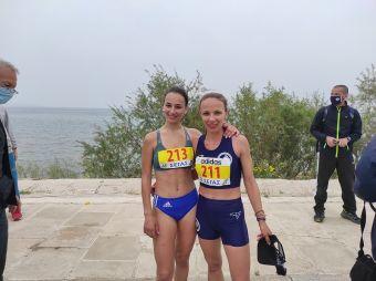 2η στο πανελλήνιο πρωτάθλημα 20χλμ. βάδην Γυναικών η Αντιγόνη Ντρισμπιώτη - 2η η Χρ. Αρβανιτάκου στα 10 χλμ βάδην Κ20