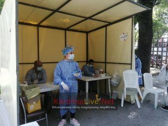 4 θετικά rapid tests τη Δευτέρα 2 Αυγούστου στην Καρδίτσα - Αρνητικά όλα στο Μουζάκι