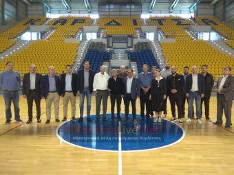Γ. Βασιλακόπουλος: Επίσημος αγώνας της Εθνικής το Φεβρουάριο στην Καρδίτσα (+Φώτο +Βίντεο)