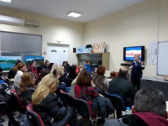 """Ενημερωτική εκδήλωση με θέμα τις """"Πρώτες Βοήθειες"""" στο Σ.Δ.Ε. Καρδίτσας"""