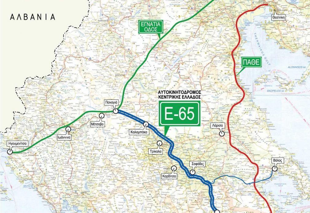 Ε-65: Η Ευρωπαϊκή Επιτροπή ενέκρινε τη χρηματοδότησή του για το Λαμία - Ξυνιάδα