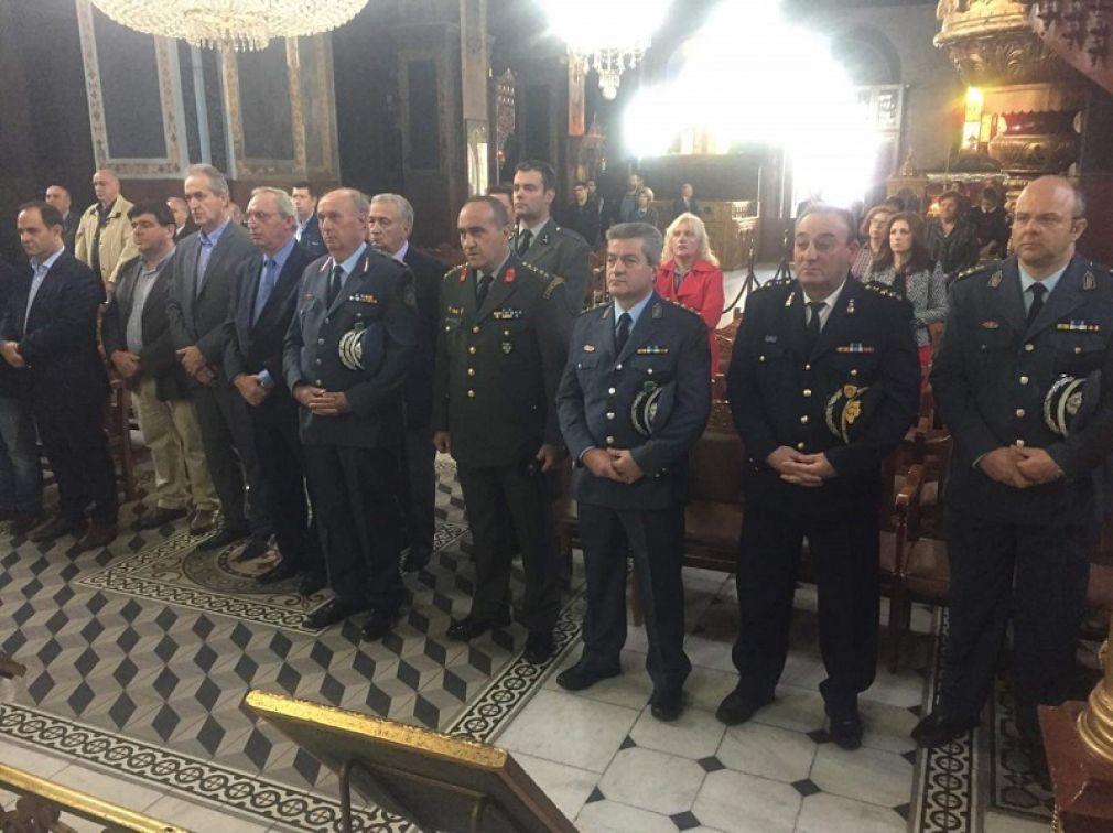 Εκδηλώσεις για τον εορτασμό της «Ημέρας της Αστυνομίας» και του Προστάτη του Σώματος Μεγαλομάρτυρα Αγίου Αρτεμίου