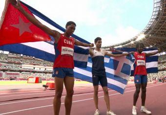 Τόκιο 2020: Χρυσός Ολυμπιονίκης ο Μίλτος Τεντόγλου στο άλμα εις μήκος! (+Βίντεο)