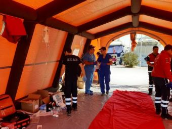 Άσκηση ετοιμότητας με προσομοίωση αεροπορικού ατυχήματος στο Θερμαϊκό πραγματοποιήθηκε στο αεροδρόμιο Μακεδονία