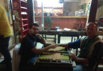 Ο Καλλούσης νικητής στο φιλικό τουρνουά προετοιμασίας Backgammon