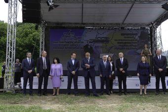 Εγκαινιάστηκε στη Βουλγαρία παρουσία του Αλ. Τσίπρα η έναρξη εργασιών κατασκευής του Διασυνδετήριου Αγωγού Ελλάδας - Βουλγαρίας (IGB)